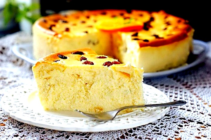 Fırında süzme peynir güveç - çocukluktan tatlı